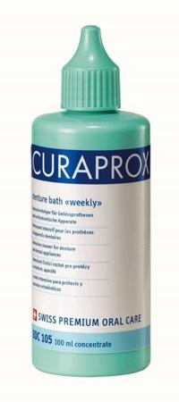 CURAPROX BDC 105 Weekly - koncentrat do cotygodniowej pielęgnacji protez  100ml