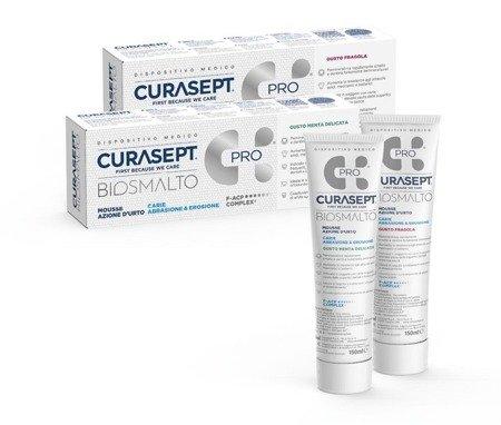 CURASEPT BIOSMALTO PROTECTION MOUSSE mus do intensywnego wzmocnienia i ochrony szkliwa, miętowy, 50 ml