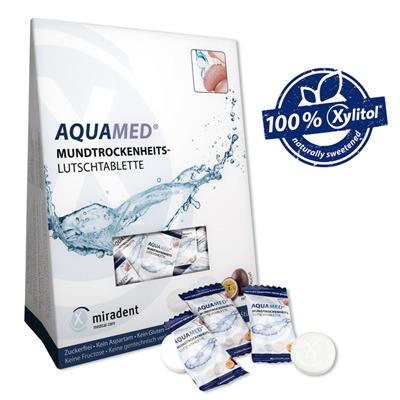 MIRADENT AQUAMED specjalistyczne tabletki na suchość jamy ustnej, 26 sztuk