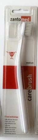 MIRADENT Alpha-Ion Carebrush - szczotki do mycia zębów bez użycia pasty z włosiem pokrytym jonami krzemu