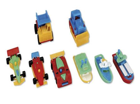 MIRATOI Nr. 10 - set samochody i statki , nagrody dla Dzielnego Pacjenta, 100 sztuk