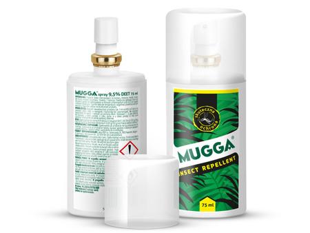 MUGGA spray  DEET 9,5 %, 75 ml