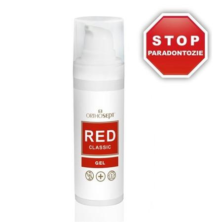ORTHOSEPT RED CLASSIC GEL medyczny żel stomatologiczny do miejscowego stosowania w obrębie jamy ustnej