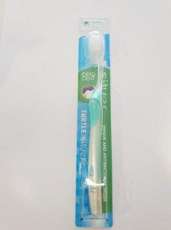 ORTO DENT COMFORT MIDI Turtle -  szczoteczka do mycia zębów , seledynowa