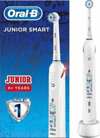 OralB Junior Smart szczoteczka elektryczna powyżej 6 roku życia