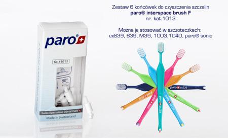 PARO Interdental Brush F 1013 - końcówki wymienne do szczoteczek 6 szt