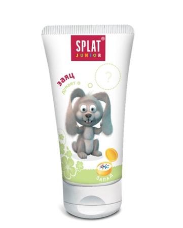 SPLAT Junior West- bio-aktywna pasta do mycia zębów dla dzieci w wieku 3-8 lat z kompleksem unikalnych enzymów - truskawka