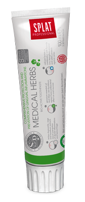 SPLAT Professional MEDICAL HERBS 100ml -  pasta na krwawienie dziąseł i stany zapalne