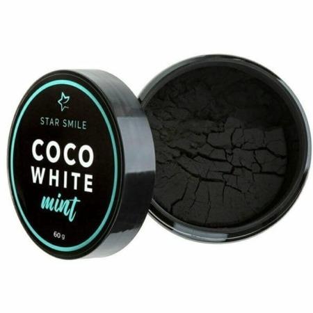 STAR SMILE COCO WHITE MINT wybielający proszek z węglem do mycia zębów, 60g