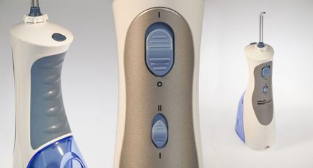 Waterpik  WP-450 E2 Plus + 4 końcówki (PL) - irygator dentystyczny podróżny
