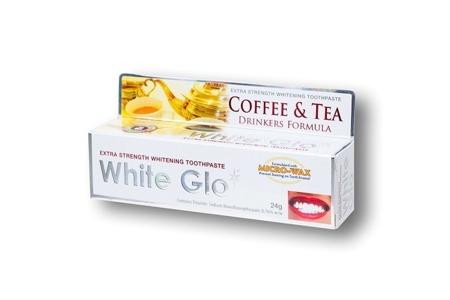 White Glo Coffe&Tea Drinkers Formuła - pasta wybielająca usuwająca przebarwienia szkliwa ,24 g