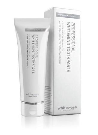 WhiteWash Professional Whitening  - innowacyjna wybielająca pasta do zębów z cząsteczkami srebra,125ml