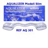 AQUALIZER OralSlim Medium Volume - samodopasowująca szyna łagodząca bóle skroniowo-żuchwowe, rozmiar MEDIUM 2 mm